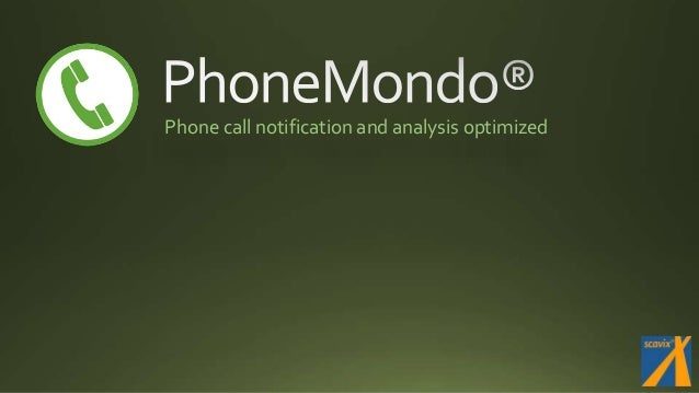 Phone call notification and analysis optimized