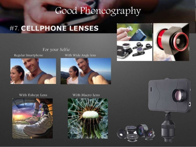 Good Phoneography #7. CELLPHONE LENSES With Wide Angle lensRegular Smartphone For your Selfie With Fisheye Lens With Macro...