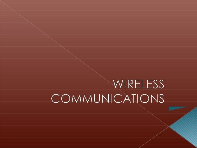    Mobile Telephone System (MTS)    › Introduced in 1946    › Simplex (one-way transmission) and manual      operation  ...