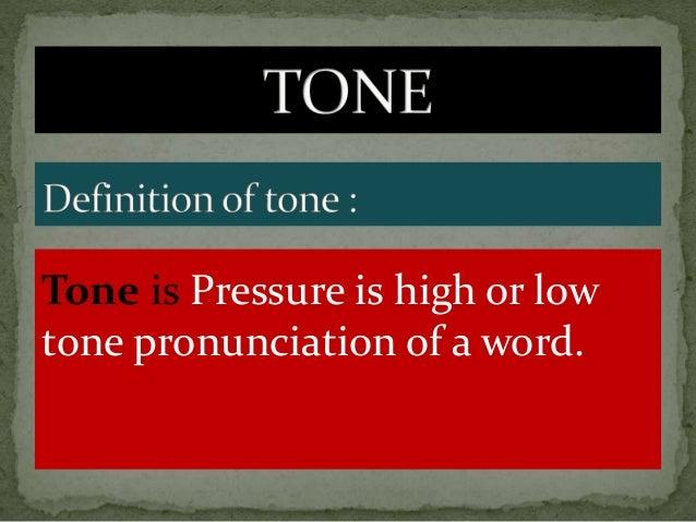 high tone : e.g : tí= 'that, which' ʃé= 'isn't it? etc.' Mid tone : e.g : ti= 'property of' ʃe= 'to do' Low tone : e.g : t...
