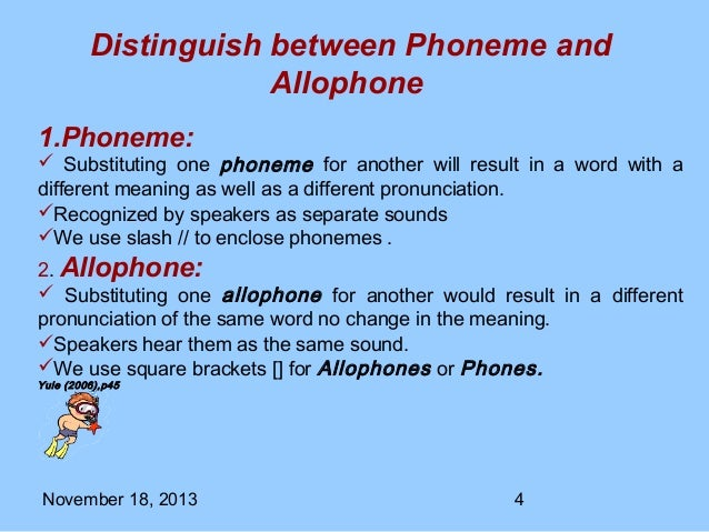 phonemes and allophones Linguistics 201 kathryn flack spring, 2007 homework 9 – phonemes and allophones due friday, may 4 1 inuktitut phonemes.