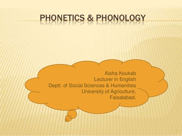 lecture 1 phonetics and phonology Download this ling 1 class note to get exam ready in less time class note uploaded on nov 6, 2017 2 page(s.