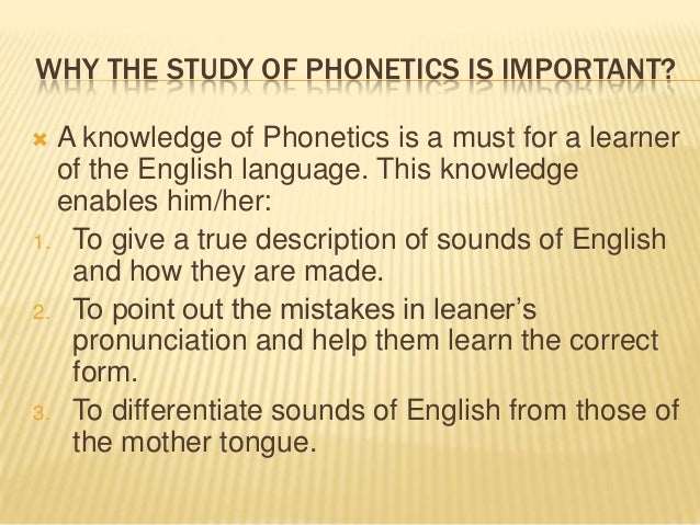the importance of phonology and phonetic 2007-02-11  phonetics vs phonology  32,031 + 0 i wanna know the difference between phonology and phonetics  important announcement from our team.
