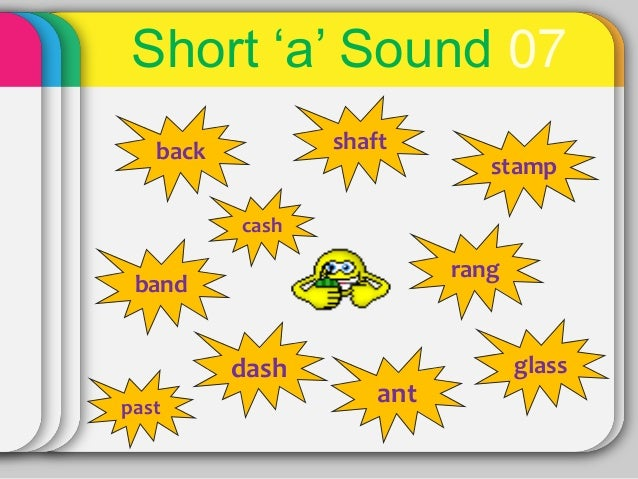 Phonics01 Short A Sound