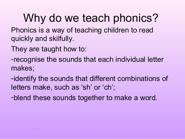 Phonics Meeting Parents Powerpoint