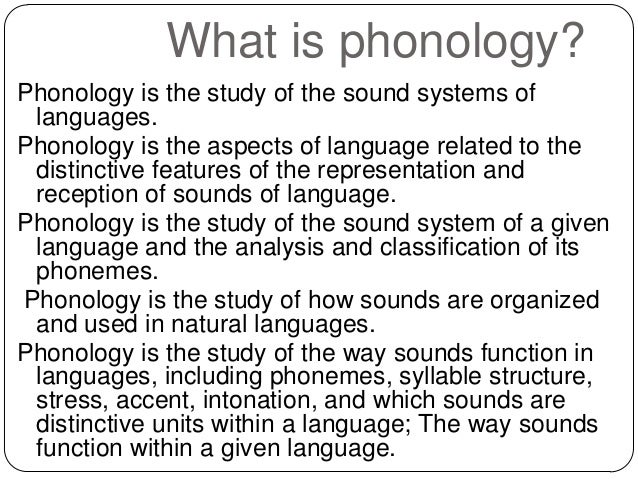 what is phonology Phonology, published three times a year, is the only journal devoted to all aspects of the discipline, and provides a unique forum for the productive interchange of ideas among phonologists and those working in related disciplines.