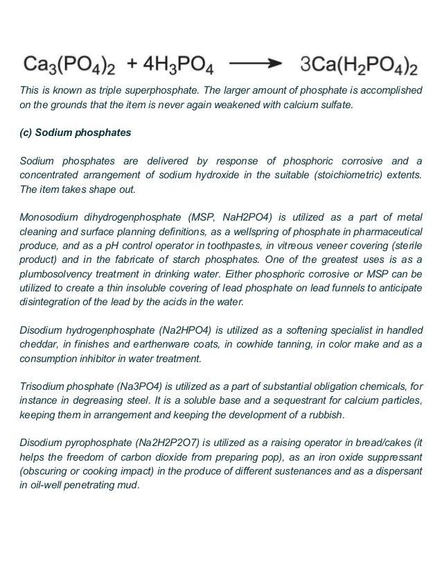 Phosphoric acid suppliers in Delhi