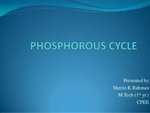 Presented by Sherin K Rahman M.Tech (1st yr.) CPEE