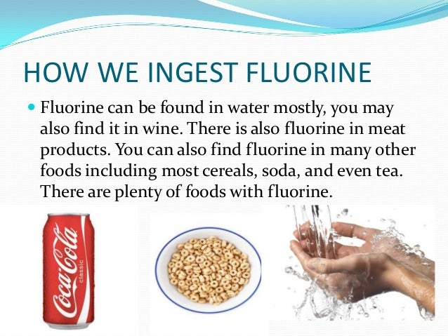 Phosphorus and flourine