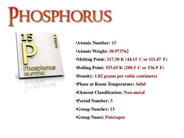 What State Is Phosphorus At Room Temperature