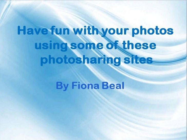 a) PicasaPicasa web albums            'Picasa web albums' comes free            with a Google account. You get            ...