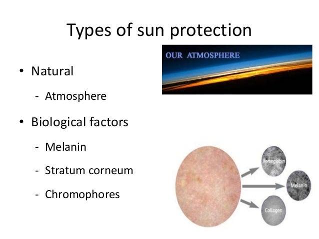 Sunscreens • Organic (chemical) absorbers - UVB absorbers PABA derivatives PABA Cinnamates Cinoxate Salicylates - UVA abso...