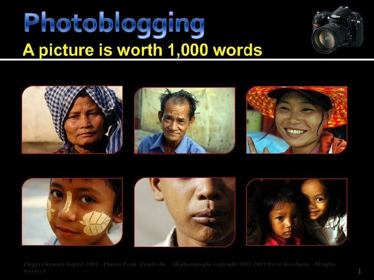 Clogger Summit August 2007 - Phnom Penh, Cambodia – All photographs copyright 2002-2007 Steve Goodman - All rights reserved