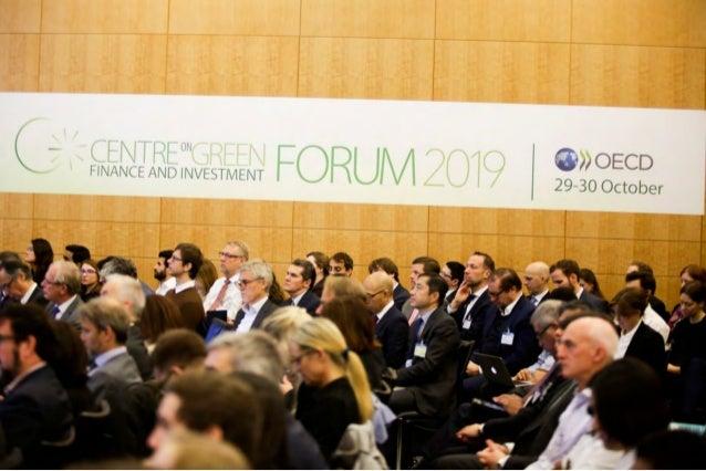 OECD Green Finance and Investment Forum 2019 - Photobook Slide 2