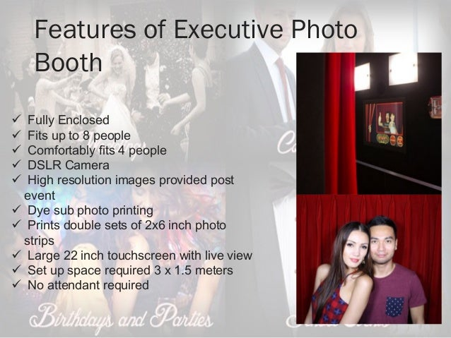 Classic Photo Booth Rental