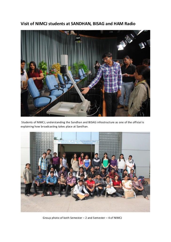 Sandhan, Bisag and HAM Radio Photos
