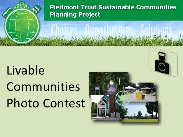 LivableCommunitiesPhoto Contest
