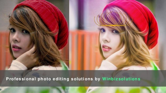 Professional photo editing solutions by Winbizsolutions