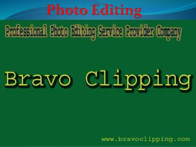 best photo editing services