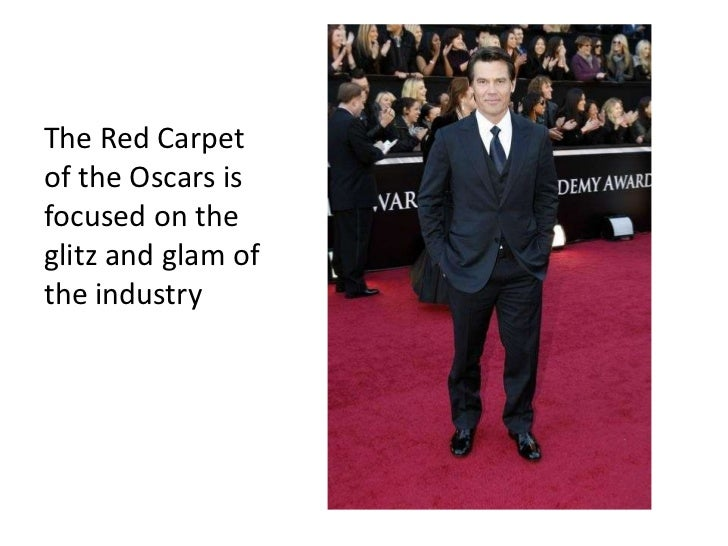 The Red Carpet of the Oscars is focused on the glitz and glam of the industry<br />