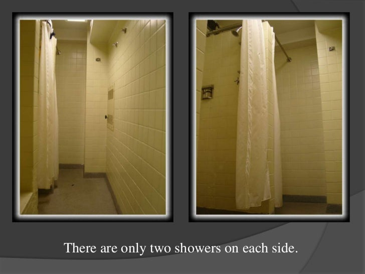 there are only two showers on each side part 53