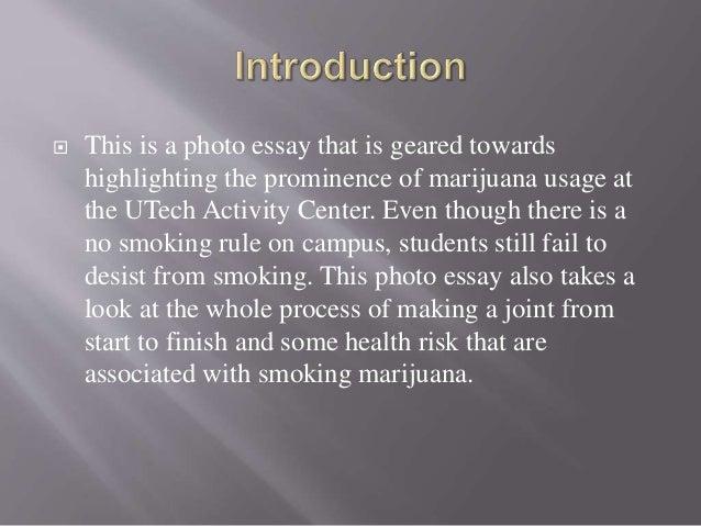 Photo Essay  Marijuana Usage At The Utech Activity Center