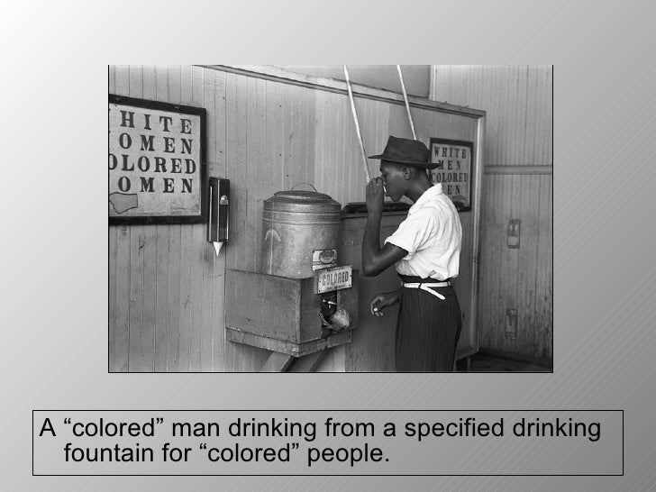photo essay racial segregation