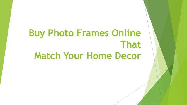 Buy Photo Frames Online