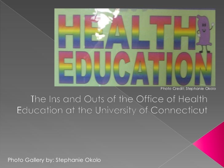 Photo Credit: Stephanie Okolo<br />The Ins and Outs of the Office of Health Education at the University of Connecticut <br...