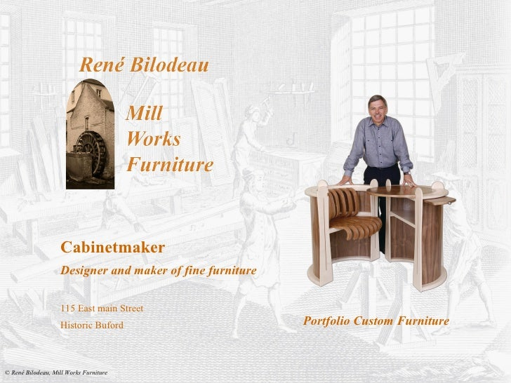 Cabinetmaker Designer and maker of fine furniture 115 East main Street Historic Buford Portfolio Custom Furniture