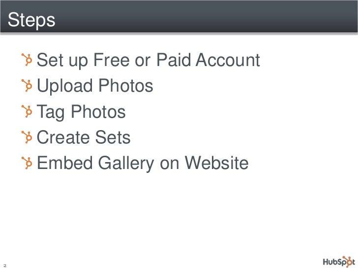 Creating a HubSpot CMS Photo Gallery via Flickr Slide 2