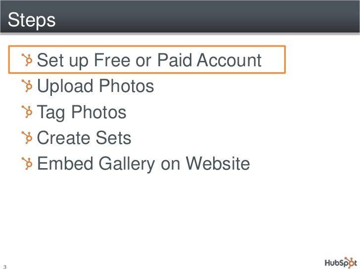 Creating a HubSpot CMS Photo Gallery via Flickr Slide 3