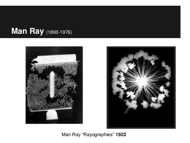 "Man Ray (1890-1976) Man Ray ""Rayographies"" 1922"