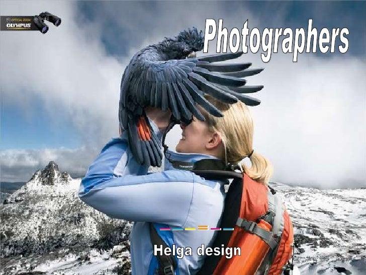 Photographers Helga design