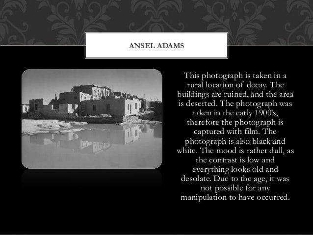 ansel adams analysis