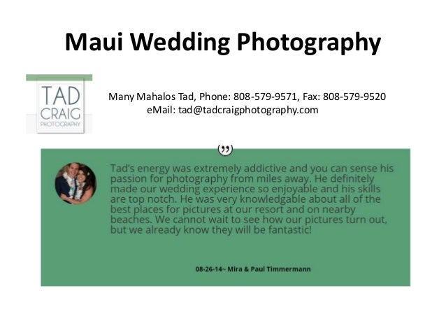 Photo Graphers in Maui Slide 3