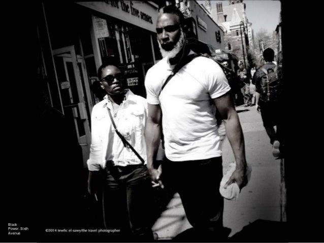 Black Power. Sixth Avenue