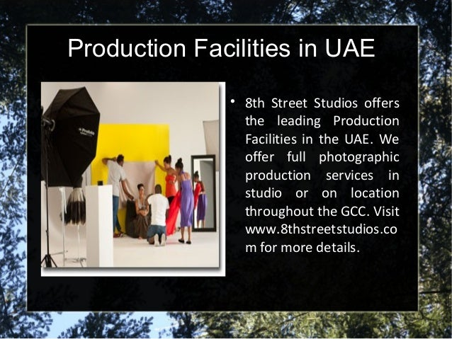 Photographic Production in UAE Slide 3
