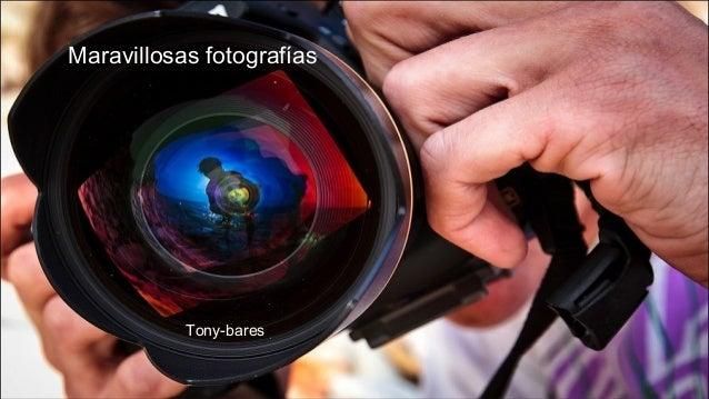 Maravillosas fotografías Tony-bares