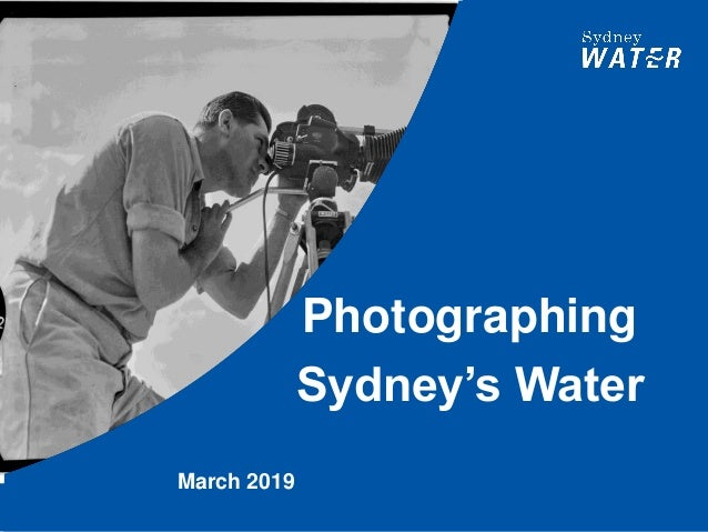 Photographing Sydney's Water March 2019