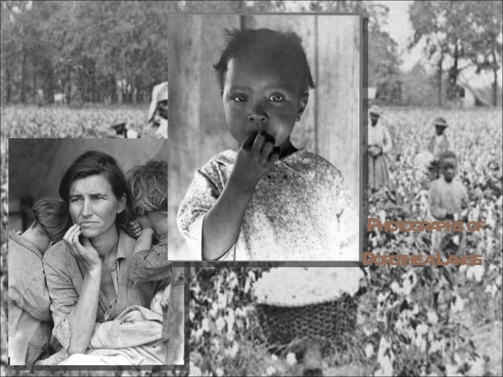 Photographs of Dorothea Lange