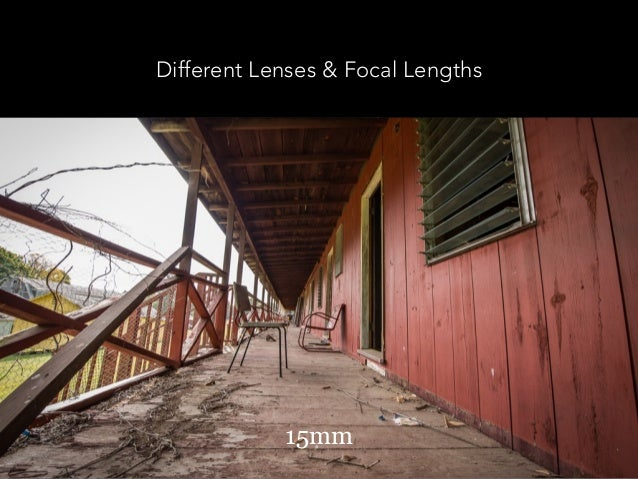 Different Lenses & Focal Lengths 200mm15mm