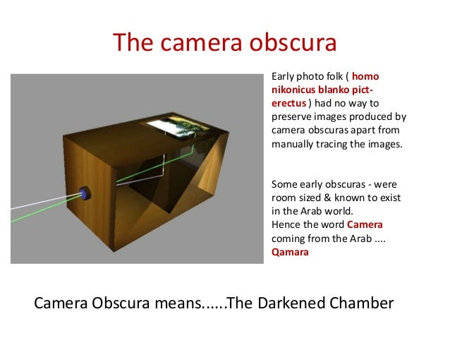 Make Your Own Camera Obscura Room