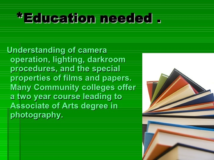 Photographer Presentation Example Slide 2