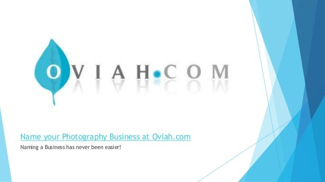 Photography Name Ideas: Photography Business Name Ideas