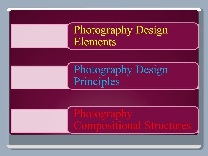 Design ElementsThe Design Elements form the basic vocabulary ofVisual Design. They create interest through an image bycrea...