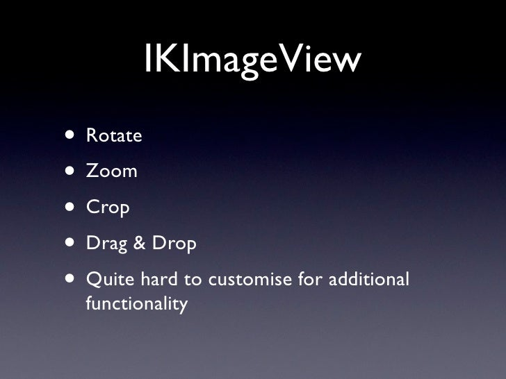 IKSlideshow • Think: Quick Look slideshow in Finder.