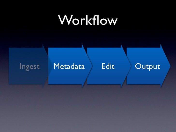 Temporary Metadata             problem.