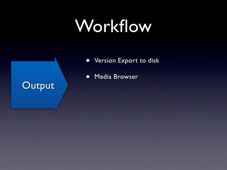 Media Browser         •   No API for Apple's Media            Browser         •   Check out Karelia's iMedia            Br...