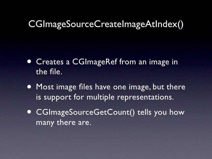 Image Kit  iPhoto         Aperture      Your App!    Image Kit      Quicktime      Core Image                    Image IO ...